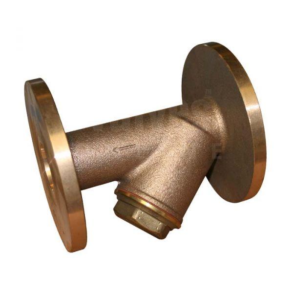 Bronze Y Type Strainer Flanged