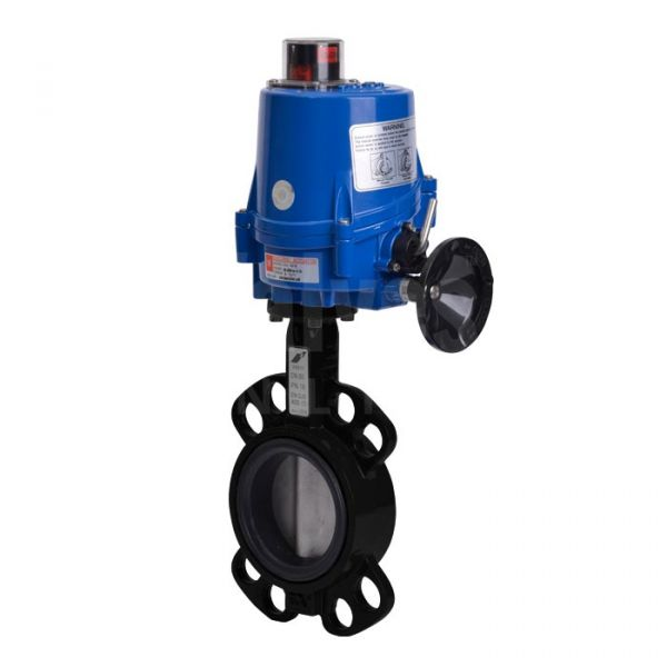Electric Actuated Butterfly Valve Wafer Pattern