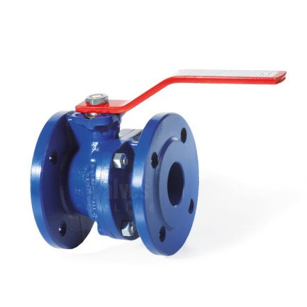 Cast Iron Ball Valve Flanged Direct Mount PN16