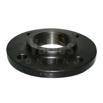 Forged Steel BSPP Flange - PN16 - 16/4 - Black