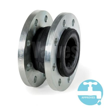 Flanged PN16 Expansion Bellows - EPDM