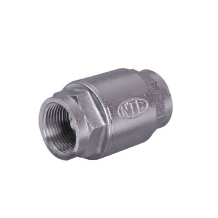 Stainless Steel Spring Check Valve Screwed BSP