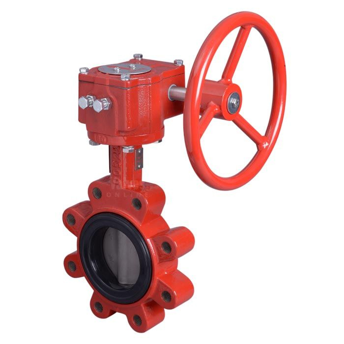 Bray Series 31 Lugged ANSI 150 Ductile Iron Butterfly Valve