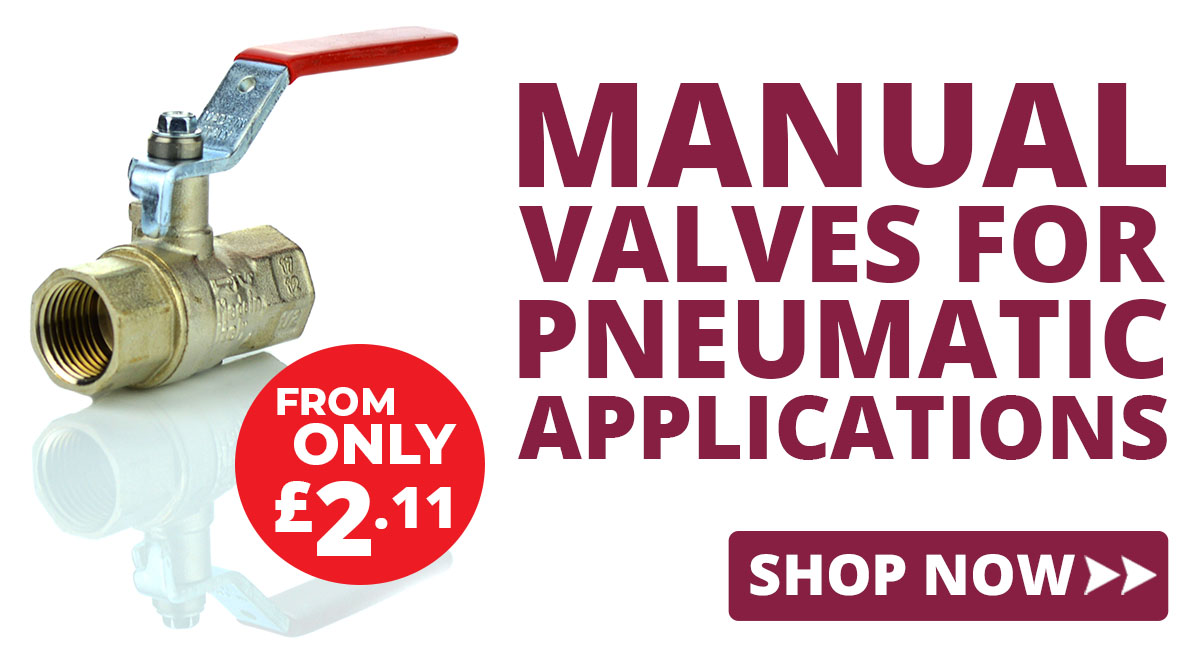 Manual Valves for Pneumatic Applications
