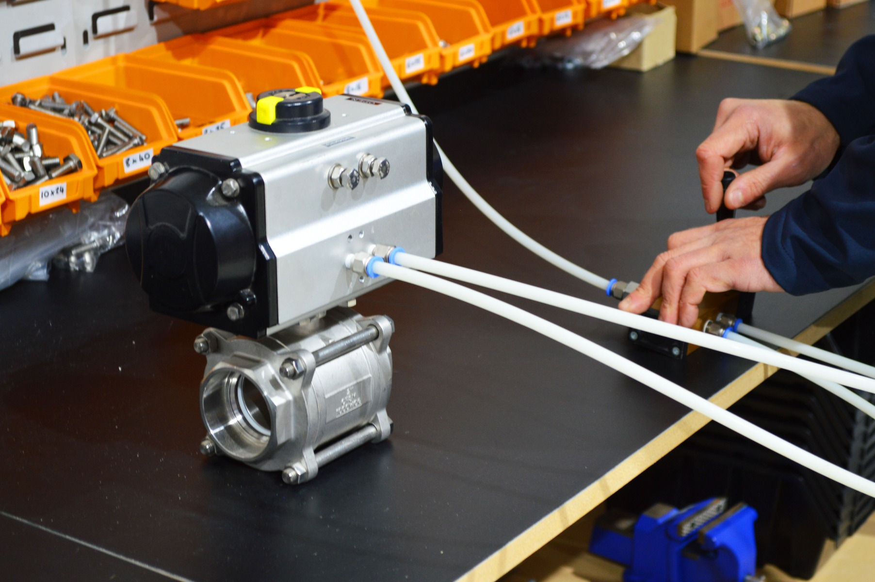 Actuation testing