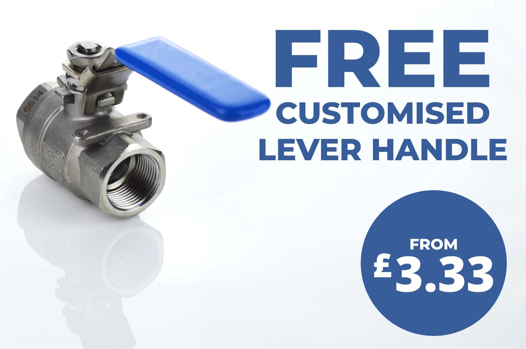 Free Customised Lever Handle