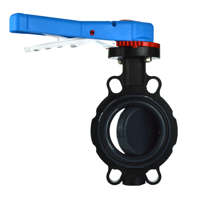Industrial Process PVC Butterfly Valve